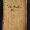 Fore-edge of Tyndale Bible
