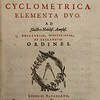 Joseph Justus Scaliger(1540-1609). Cyclometrica Elementa Duo. [Elements of Circle Measurement]. Leiden, 1594. [D.1.30]