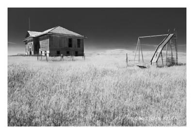 N35 Cherry Butte Schoolhouse (6 x 9)