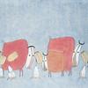 Nguyen Quang Minh, Good Friends, Watercolour, 2014