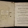 Robert Smith, Optics (Cambridge, 1759). Formerly owned by Isaac Milner.
