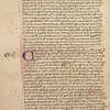 Queens MS 27, John Wycliffe (1330–84), De veritate scripturae [The truth of the scriptures], fol. 128v.