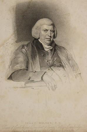 Engraving of Isaac Milner