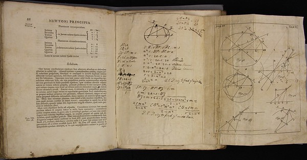 Robert Thorp, Excerpta Quaedam e Newtoni Principiis Philosophiae Naturalis (Cambridge, 1765). With annotations by Milner.