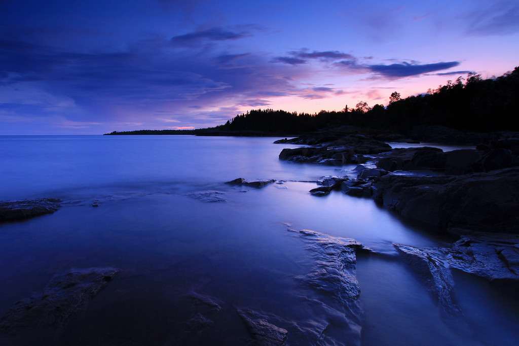 SUPERIOR SUMMER 4210<br /> <br /> Dusk at Rock Cove
