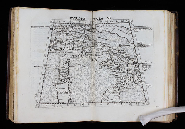 "<b>Author:</b> Ptolemy <br> <b>Title:</b><i> Geographia  </i> (Venice, 1562)<br> <b>Shelfmark:</b> F.20.1  <a href=""http://idiscover.lib.cam.ac.uk/primo-explore/fulldisplay?docid=44CAM_ALMA21394447700003606&amp;context=L&amp;vid=44CAM_PROD&amp;search_scope=SCOP_QUE&amp;tab=cam_lib_coll&amp;lang=en_US""> (catalogue record)</a>"
