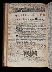 Author: Church of England  Title: The booke of common prayer, and administration of the sacraments  (London, 1634) Shelfmark: N.1.31