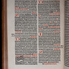 "References to the Pope were expurgated in accordance with Henry VIII's orders. <br><br> <b>Author:</b> Catholic Church<br> <b>Title:</b> <i>Missale ad vsum ecclesie Sarisburiensis</i> [ Salisbury missal] (Paris, 1529)<br> <b>Shelfmark:</b> H.6.24<a href=""https://idiscover.lib.cam.ac.uk/primo-explore/fulldisplay?docid=44CAM_ALMA21420881150003606&amp;context=L&amp;vid=44CAM_PROD&amp;search_scope=SCOP_QUE&amp;tab=cam_lib_coll&amp;lang=en_US""> (catalogue record)</a>"