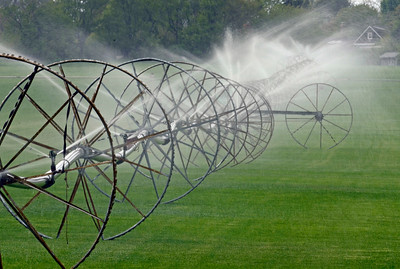 Working Irrigation Wheels