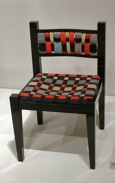 Chair by Marcel Breuer in collaboration with Gunta Stölzl.