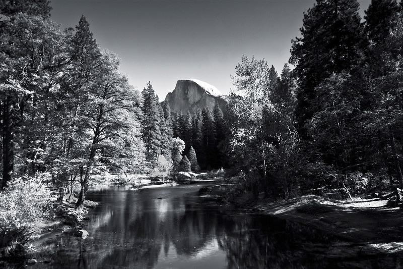 Half Dome. Yosemite National Park, CA.  2009.  24 x 16 inches.