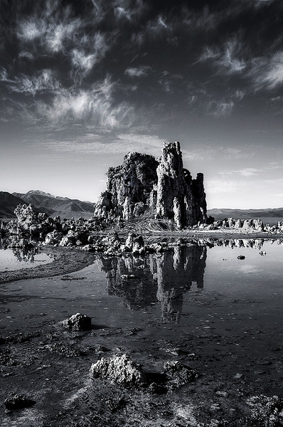 Mono Lake Study. Sierra Nevada, CA. 2009. 10 x 15 inches.