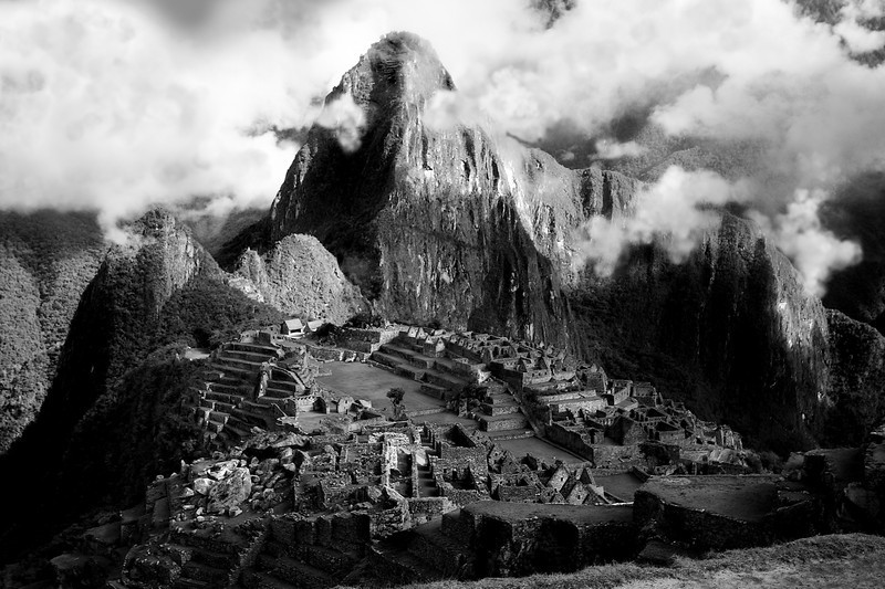 Old Mountain. Machu Pitchu, Peru. 2009. 24 x 16 inches.<br /> 7 Prints Available.<br /> £95.00