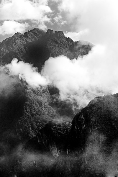 Andes View. Peru. 2008. 10 x 15 inches.
