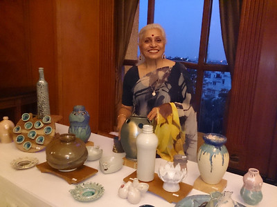 Pottery show at Hilton, New Delhi--July 2013