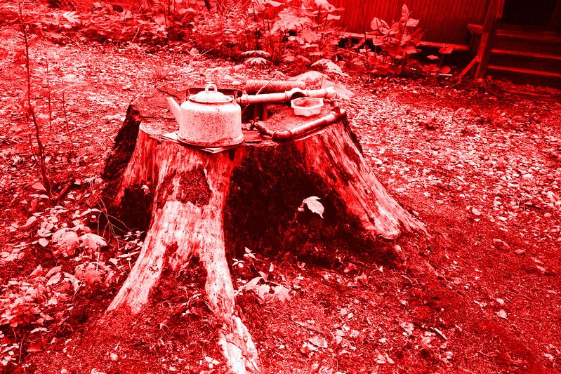 Красный чайник // Red Kettle