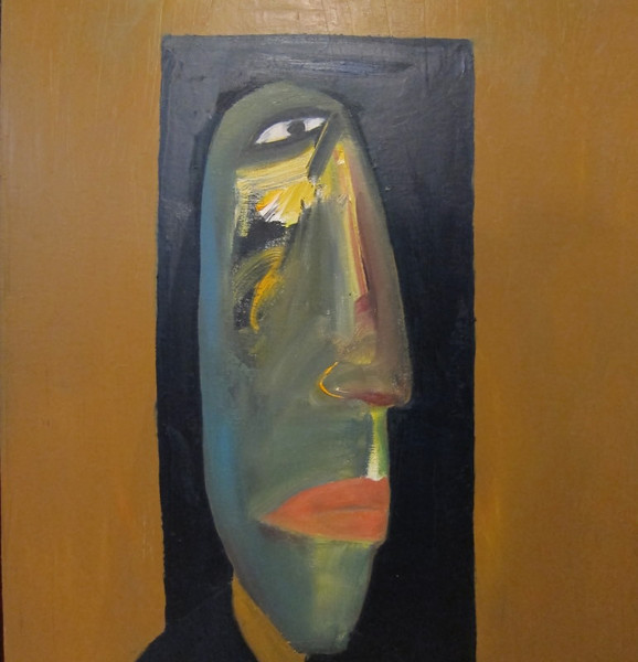 Ha Tri Hieu, Self Portrait, 2010. Oil on canvas, 24 x 32 in  (60 X 80 cm)