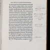 "Roger Ascham's marginalia <br><br> <b>Author:</b> Dionysius of Halicarnassus<br> <b>Title:</b><i> De Thucydidis historia judicium </i> [On Thucydides] (Venice, 1560)<br> <b>Shelfmark:</b> C.9.15(1)  <a href=""http://idiscover.lib.cam.ac.uk/permalink/f/1nnjft8/44CAM_ALMA21420880290003606""> (catalogue record)</a>"