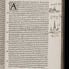 "This copy offers other fine examples of Smith's talent as an annotator: the margin contains sketches of the cities of London and Rochester that match the passages underlined in the text. <br><br> <b>Author: </b>Bede the Venerable<br> <b>Title: </b><i>Ecclesiasticae historiae gentis Anglorum </i> [Ecclesiastical history of the English people] (Antwerp, 1550) <br> <b>Shelfmark: </b> X.17.1<a href=""http://idiscover.lib.cam.ac.uk/permalink/f/1nnjft8/44CAM_ALMA21420911500003606S""> (catalogue record)</a><br>"