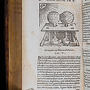 "<b>Author:</b> Giambattista della Porta<br> <b>Title:</b><i> Magiae naturalis </i> [Natural magic] (Frankfurt, 1597) <br> <b>Shelfmark:</b> H.20.32  <a href=""http://idiscover.lib.cam.ac.uk/permalink/f/1nnjft8/44CAM_ALMA21392239250003606""> (catalogue record)</a>"