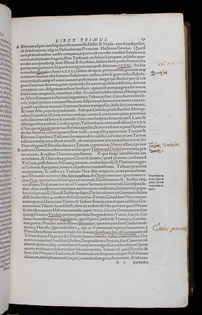 "<b>Author:</b> Wolfgang Lazius<br> <b>Title:</b><i> De gentium aliquot migrationibus</i> [On the several wanderings of peoples] (Basel, 1557)<br> <b>Shelfmark:</b> G.3.3  <a href=""http://idiscover.lib.cam.ac.uk/primo-explore/fulldisplay?docid=44CAM_ALMA21402179800003606&amp;context=L&amp;vid=44CAM_PROD&amp;search_scope=SCOP_QUE&amp;tab=cam_lib_coll&amp;lang=en_US""> (catalogue record)</a>"