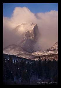 Hallett Peak from Sprague Lake, Rocky Mountain National Park
