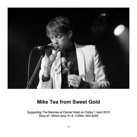 "$95 Mike Tea from Sweet Gold (8"" x 12"")"