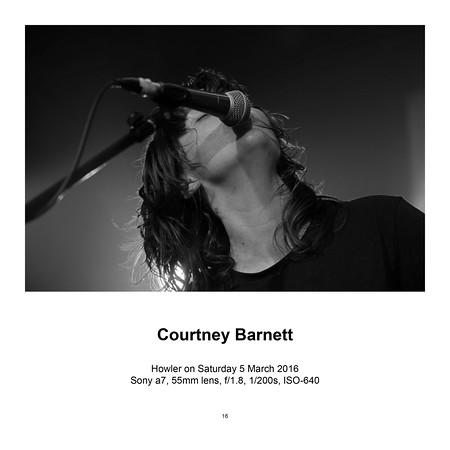 Courtney Barnett (SOLD)