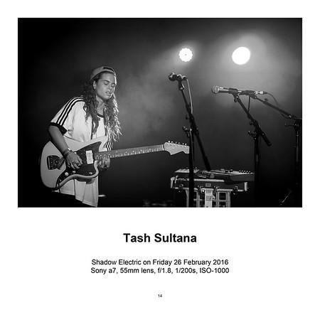 """$145 Tash Sultana (12"""" x 18"""")"""