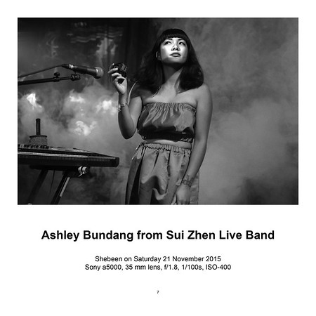 Ashley Bundang from Sui Zhen Live Band (SOLD)