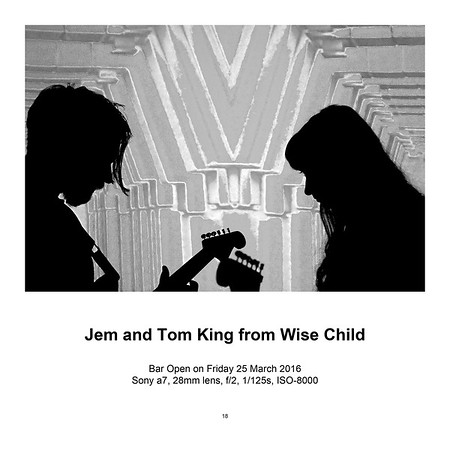 "$95 Jem and Tom King from Wise Child (8"" x 12"")"