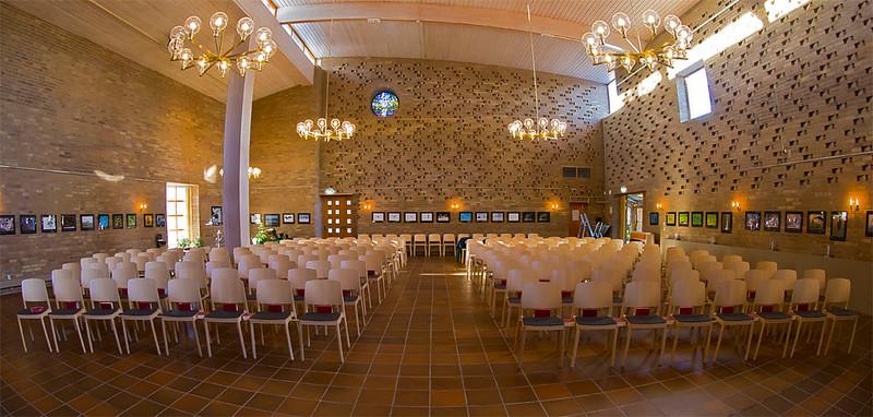 Exhibition in Bollmoradalens church, Tyresö Sweden