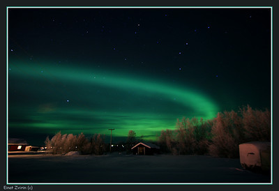 The Northern Lights, Jukkasjärvi, Sweden Participated in the   Exposed to Light Exhibition  More Northern Lights photos,  here
