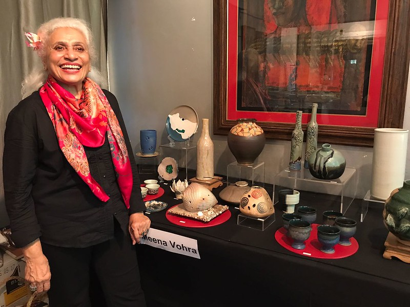 Pottery Show - Defence Colony - awesome experience !!