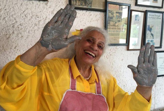 BBC's Geeta Pandey meets ceramic artist Meena Vohra,