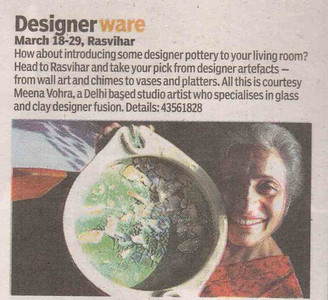 Outdoor Originals, Chennai, Pottery studio, Pottery classes, Delhi, Meena Vohra