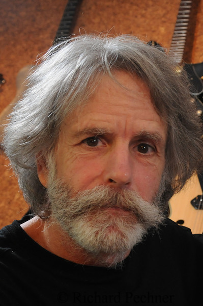 Bob Weir close up in his studio, Mill Valley, CA June 21st, 2010.