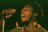 "Jimmy Cliff singing ""The Harder They Come"" in San Francisco, Ca, in May of 1981."
