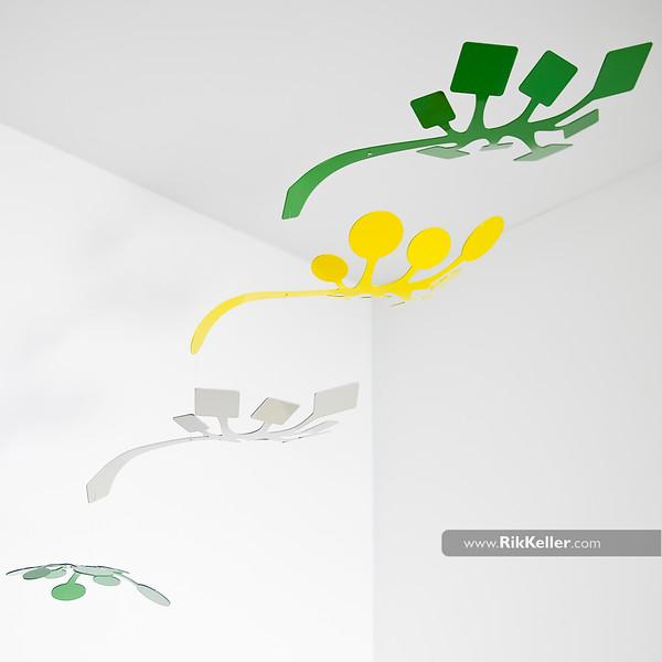"""sprig"" mobile by Schmitt Design"