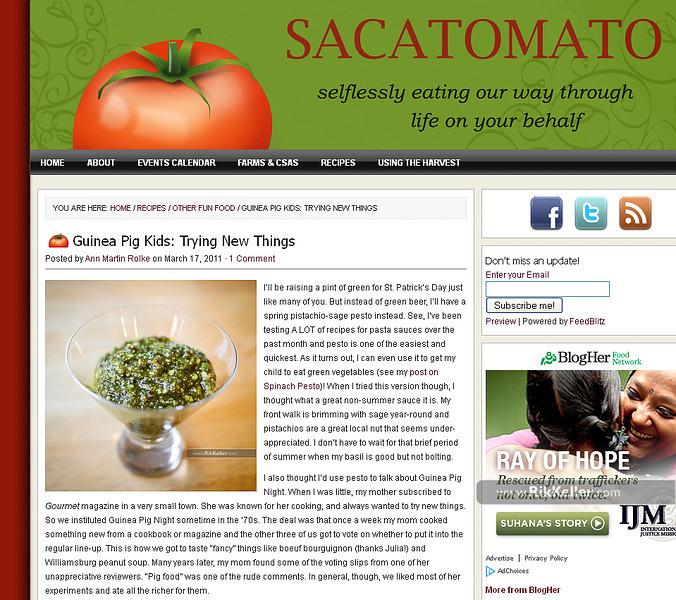 "Sacatomato<br />  <a href=""http://www.sacatomato.com/guinea-pig-kids-meals"">http://www.sacatomato.com/guinea-pig-kids-meals</a>"