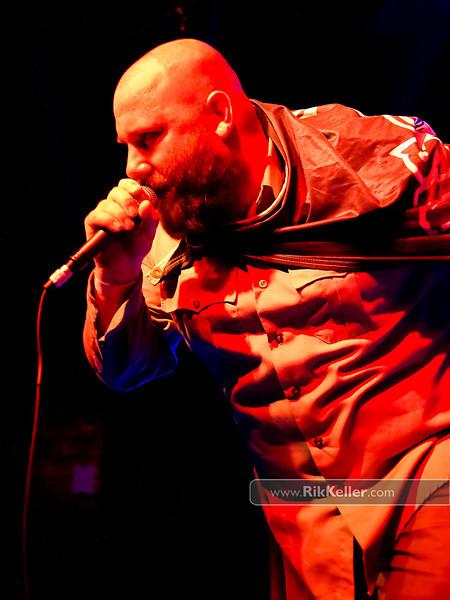 Sage Francis at Ace of Spades. Sacramento CA - May 2011