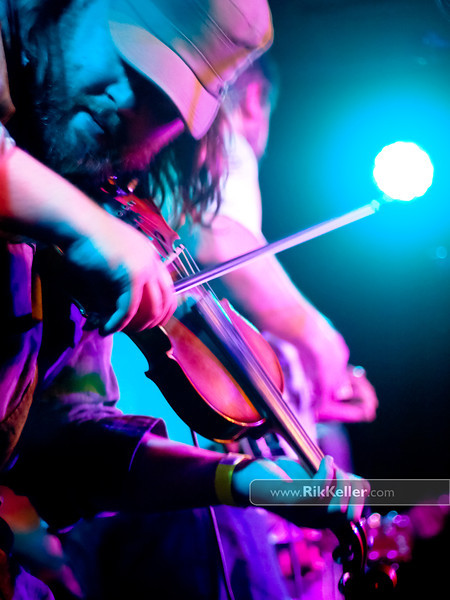 fiddler with Trampled By Turtles at Harlow's. Sacramento CA - May 2011