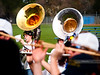 UC-Davis Cal Aggie Marching Band-uh! at Davis Little League opening day - March 2011