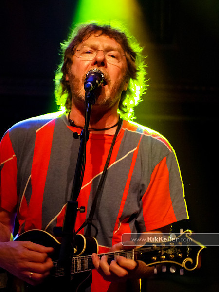 Sam Bush, the father of Newgrass, at the Crystal Bay Club, Lake Tahoe NV - February 2011