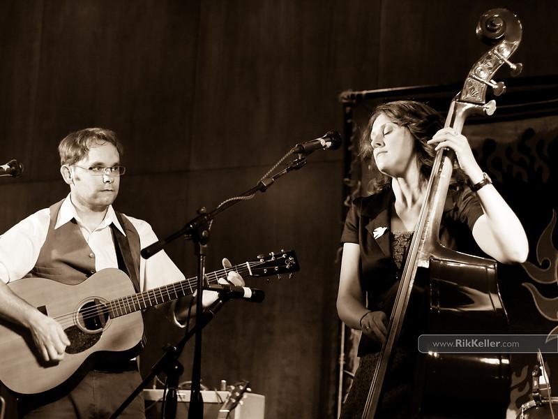 Misner & Smith at Davis Odd Fellows Hall - August 2011