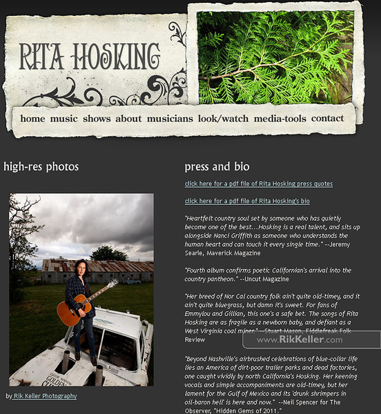 RitaHosking-website