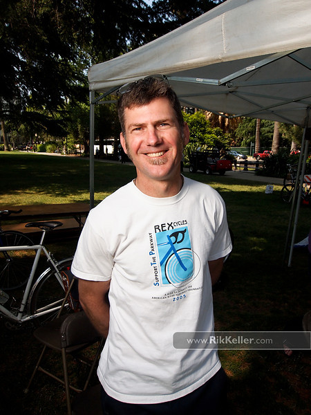 Steve Rex, owner of Rex Cycles. Sacramento CA