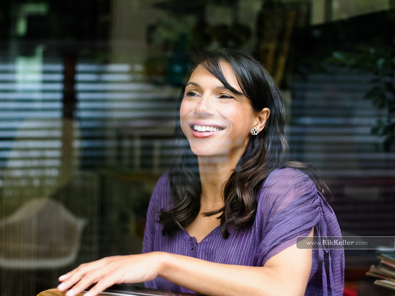 """Lara Downes, concert pianist and Mondavi Center (UC Davis) artist-in-residence.  For the  """"13 Ways of Looking at the Goldberg"""" CD"""