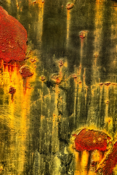 Rusty Car Abstract # 2