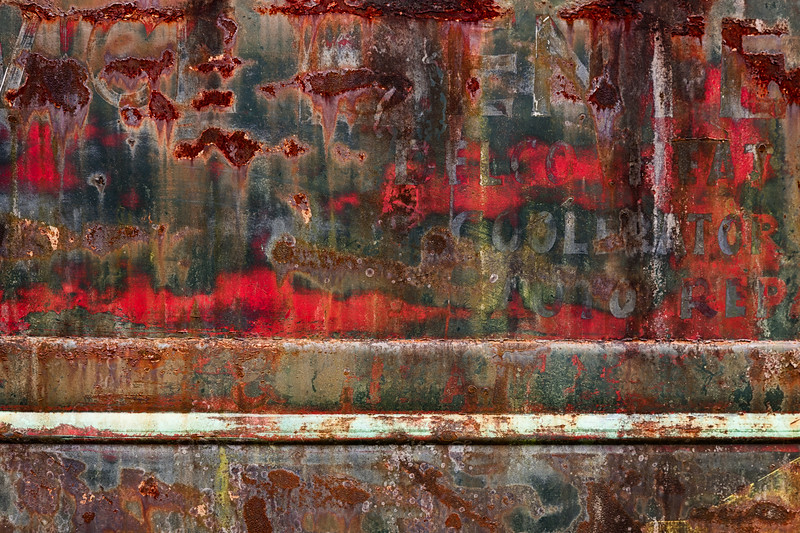 Rusty Truck Abstract #5